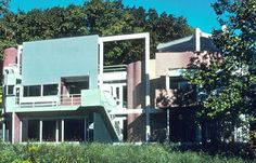 One week ago I posted a mystery photo of a long gone historical home here in Fort Wayne, and asked readers to submit their best guesses as t. Mystery Photos, Michael Graves, Long Gone, Postmodernism, Modern Architecture, Mansions, House Styles, World, Building