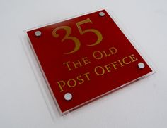 The #OLD #Post Office <3 the sign. Whats you're House Name ? http://www.de-signage.com    The Sign for You @De-signage pic.twitter.com/qI4kXSEx3l
