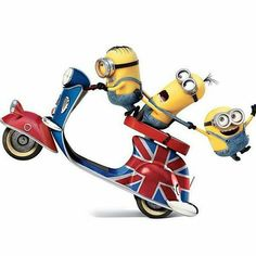 Minions Stuart, Kevin and Bob are recruited by Scarlet Overkill, a super-villain who, alongside her inventor husband Herb, hatches a plot to take over the world. Minions Images, Minions Quotes, Funny Movies, Funny Games, Weekender, Cute Minions Wallpaper, Minion 2015, Bike Sketch, Funny Facebook Status