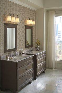 Inspired by classic crystal drawer pulls, the Sophie Collection couples contemporary crystal with traditional lines. Masculine Bathroom, Online Lighting Stores, Transitional Lighting, Residential Lighting, Bathroom Vanity Lighting, Light Bathroom, Master Bathroom, Cool Lighting, Lighting Ideas