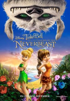 Tinkerbell and the Legend of the Neverbeast, one of the best Disney movies I have ever seen. Kid Movies, Family Movies, Cartoon Movies, Great Movies, Movies And Tv Shows, Tinkerbell Movies, Tinkerbell And Friends, Disney Fairies, Disney Movie Posters
