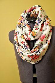 DIY Infinity scarf