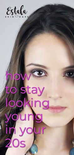 5 Tips To Keep Your Skin Looking Young How to stay looking young in your The anti-aging skin care beauty secrets are revealed! Get more self-care beauty and face care tips from Estala Skin Care. Oily Skin Care, Face Skin Care, Anti Aging Skin Care, Face Care Tips, Skin Care Tips, Skin Tips, Combination Skin Care, Beauty Hacks Skincare, Routine