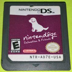 Nintendogs Dalmatian & Friends (Nintendo DS) Lite DSi XL 3DS 2DS Game