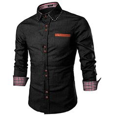 NIUQI Mens Casual Fashion Business Plaid Printing Loose Long Sleeve Shirt Tops Blouse