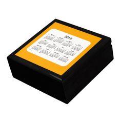 2016 Orange Box Calendar by Janz Gift Boxes
