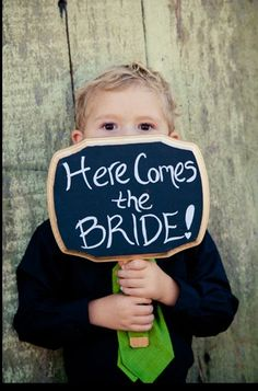 here comes the bride sign - chalkboard style Our Wedding Day, Spring Wedding, Wedding Reception, Diy Wedding Inspiration, Wedding Ideas, Chalkboard Signs, Ceremony Decorations, Here Comes The Bride, Family Portraits