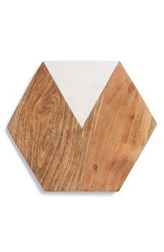 Free shipping and returns on Thirstystone Marble & Wood Hexagonal Serving Board at Nordstrom.com. Cool wood andshimmeringmarble compose a smooth, elegantly shaped serving board ideal for showcasing appetizers or desserts.