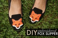 DIY Fox Slippers! | Lovelyish