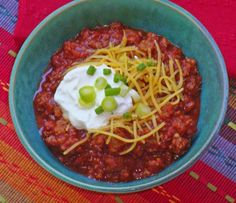 Easiest chili ever! CARB WARS BLOG