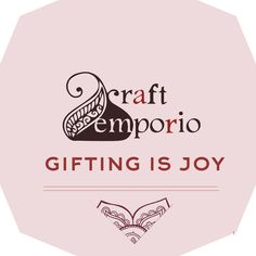 """""""The greatest gift that you can give to others is the gift of unconditional love and acceptance."""" This statement is correct.. But the real GIFTS just escalates the whole meaning. tongue emoticon tongue emoticon Craft Emporio www.craftemporio.com  wishes you a Happy Gifting Season.."""