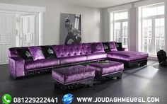 Furnish your room with a new purple sofa – Sofa Design 2020 My Living Room, Living Room Decor, Bedroom Decor, Purple Furniture, Cool Furniture, Retro Furniture, Lila Sofa, Purple Bedrooms, Purple Kitchen