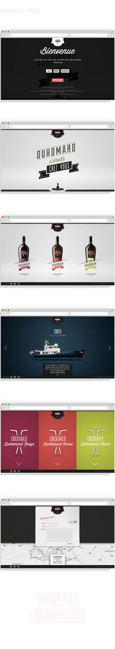 Martin Caro - Duhomard Webdesign https://www.behance.net/gallery/Duhomard-webdesign/13871703