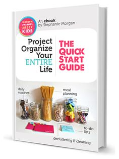 Project Organize Your ENTIRE Life...NEED!