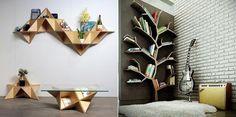 20 pomysłów na proste wykorzystanie drewnianych półek, dzięki którym zyskasz…
