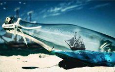 Une bouteille à la mer ;-P