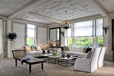 Ballroom alterior view - Villa Maria in Watermill, NY. Designed by Andre Tchelistcheff Architects.