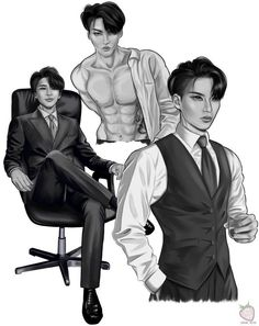 Hot Korean Guys, Kpop Drawings, Fire Art, Kpop Guys, Handsome Anime, Kpop Fanart, Kpop Aesthetic, Wattpad, Beautiful Boys