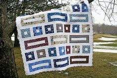 Vroom Vroom Quilt (Freshly Pieced), with tutorial link