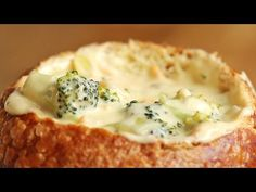 Broccoli Cheddar Soup - YouTube