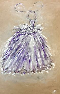 """TITLE:  """"SILVER COUTURE""""  BY ZSAZSA BELLAGIO    MEDIUM:  OIL AND SILVER LEAF ON BOARD  see details here: http://artpassionzsazsabellagio.blogspot.com"""