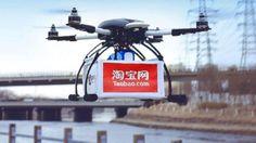 Alibaba Beats Amazon to Drone Delivery [Future Drones: http://futuristicnews.com/tag/drone/ Drones for Sale: http://futuristicshop.com/tag/drone/ The Future of Shopping: http://futuristicnews.com/tag/shop/]