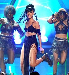 Rihanna's hair history.
