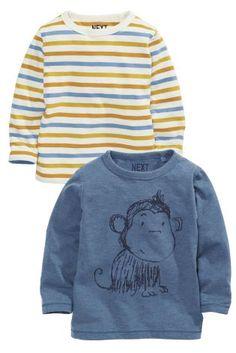 Kaufen Sie T-Shirts, mit Affenmotiv und gestreift, Zweier-Pack (3 Monate – 6 Jahre) heute online bei Next: Deutschland