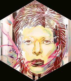 Paris - C215 - David Bowie | Flickr - Photo Sharing!