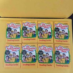 Cool item: The Andy Griffith Show (10) Packs
