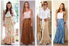 Saia Longa Veja como criar looks incríveis com elas! 4