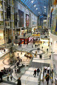 Toronto Eaton Centre image by Craig White