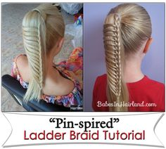 Ladder Braid- need to try this