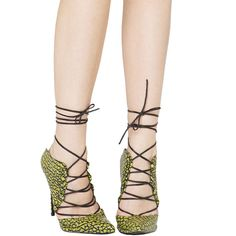 Lust for Life Limit Lace-Up Mules - Super Lemon ($180) ❤ liked on Polyvore featuring shoes, super lemon, laced up shoes, laced shoes, mule shoes, lemon shoes and lace up shoes