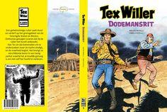 Capa da edição holandesa do Tex Gigante desenhado por Fabio Civitelli