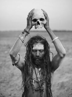 Joey L. AGHORA PUJA The Aghori have a profound connection with the dead. Death is not a fearsome concept, but a passing from the world of il...