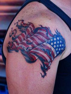 flag tatoos