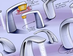 faucet sketches industrial design - Google Search