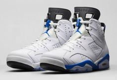 Air Jordan Retro 6 Sport Blue | Kixify.com