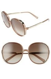 Chloé Myrte 61mm Sunglasses available at #Nordstrom