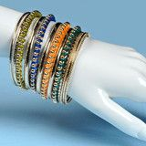 bangles, the site calls boho chic trend, I call it Indian fashion.