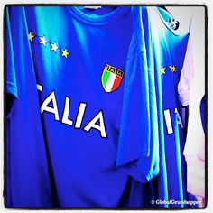 Buy a soccer / football jersey of the Italian team. #visit #italy #travel