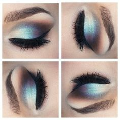 Incredible eye makeup . Aint nobody go time for that.