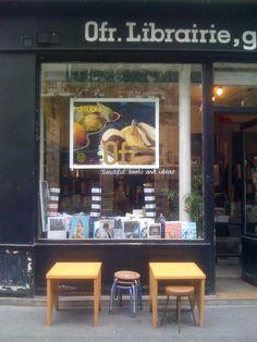 0fr.  boekenwinkel parijs