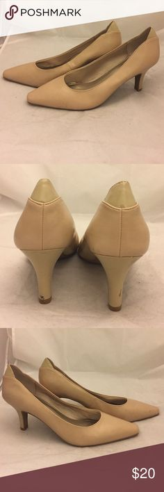 Life Stride pumps Life Stride pumps with 3 inch heels. These are Off Broadway end of season shelf pulls that have some scuffs. Life Stride Shoes Heels