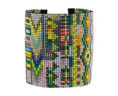 Julie Rofman - Victoria Mix Wide Bead Bracelet in Under $250 Bracelets at…