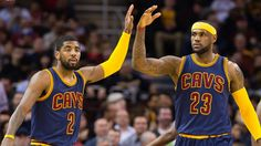 Kyrie Irving and LeBron James teamed up for easy Cleveland Cavaliers victory