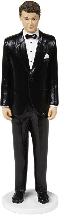 Cake Topper Groom W/Dark Hair- ** Details can be found at : Baking tools
