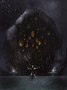 shoggoth summoning by Odinoir.deviantart.com on @deviantART
