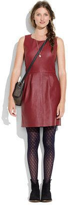 Madewell - Leather Shift Dress - $450.00 - Click on the image to shop now